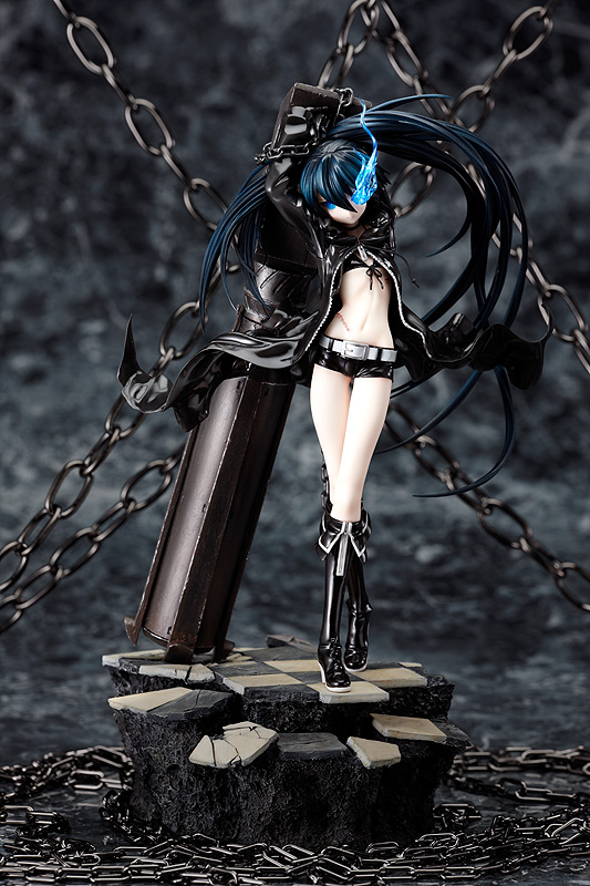 1/8 Black Rock Shooter PVC (promo image)