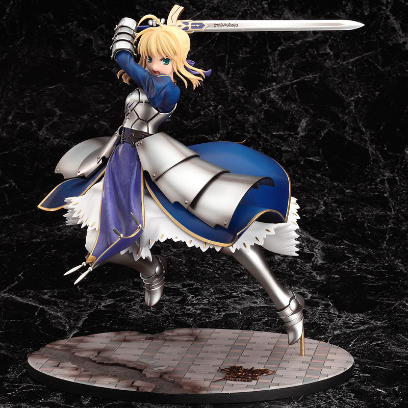 Fate//Zero Saber /& Saber Motored Cuirassier 1//8 PVC figure Good Smile Company EMS