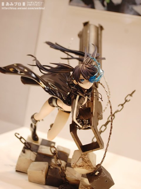 GSC's Black Rock Shooter ~Anime Ver.~ at WF2010W via AmiAmi Blog
