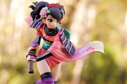 1/8-scale Momohime PVC figure by Alter (outdoor shot #1)