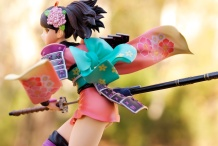 1/8-scale Momohime PVC figure by Alter (outdoor shot #3)
