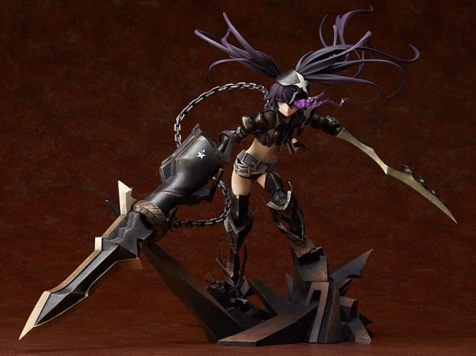 1/8 scale Insane Black Rock Shooter PVC figure by Good Smile Company
