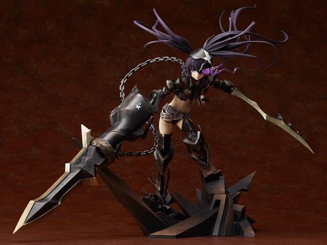 1/8 scale Insane Black Rock Shooter PVC figure by Good Smile Company