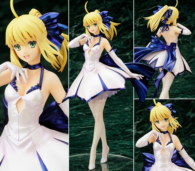 1/7 scale Saber ~Dress Code~ PVC figure by Alter