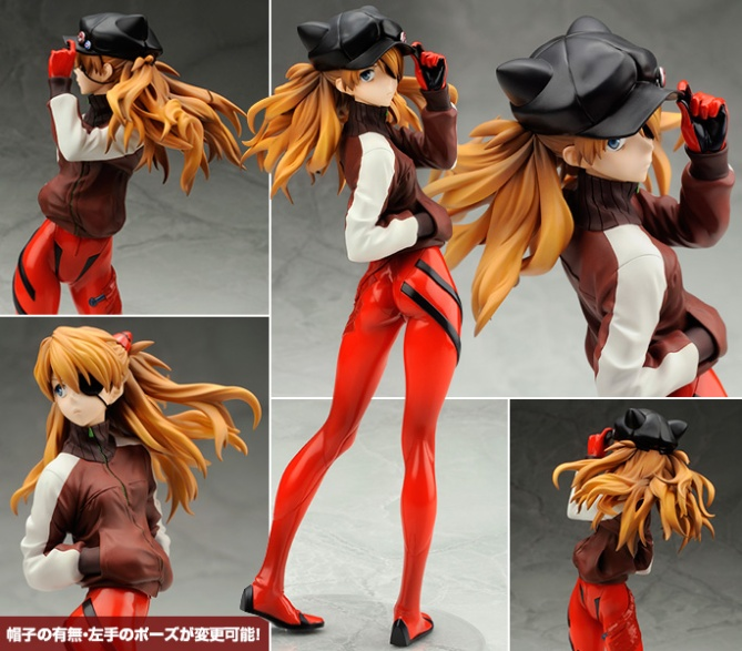 1/7 scale Shikinami Asuka Langley ~Jersey ver.~ PVC figure by Alter