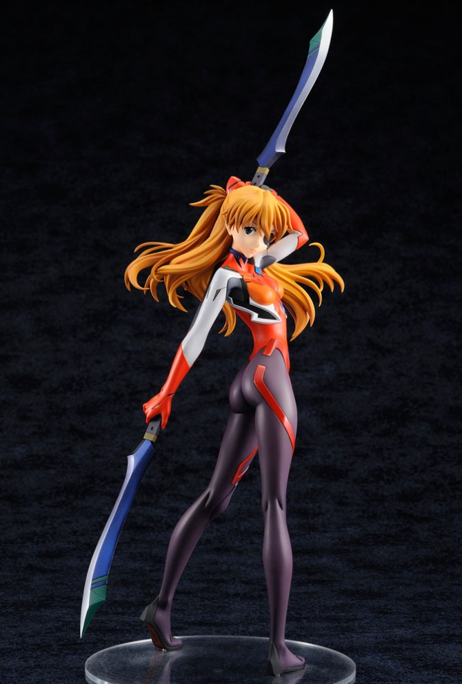 1/6 scale Shikinami Asuka Langley PVC figure by Amakuni