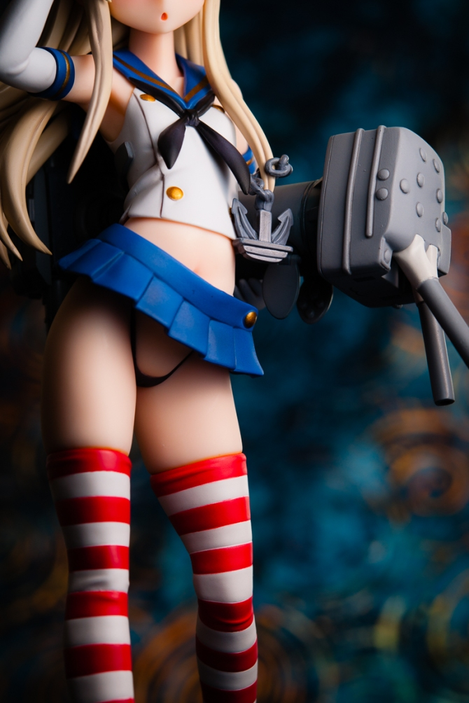 1/8 scale Shimakaze PVC figure by Amakuni (#26)