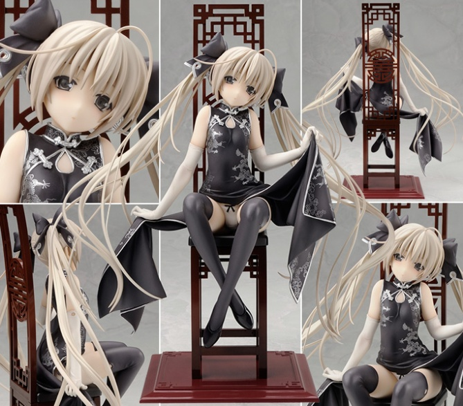 1/7 scale Kasugano Sora ~Black Cheongsam ver.~ PVC figure by Alter