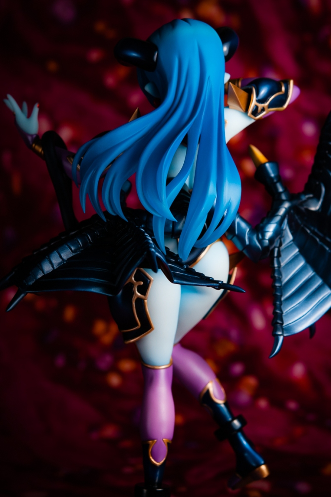 1/8 scale Astaroth PVC figure by MegaHouse (#17)