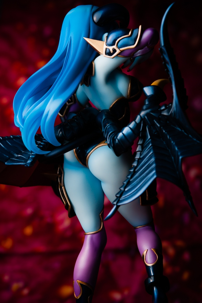 1/8 scale Astaroth PVC figure by MegaHouse (#20)