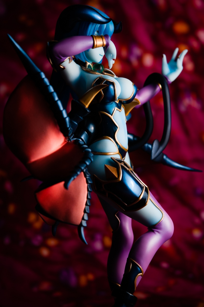 1/8 scale Astaroth PVC figure by MegaHouse (#21)